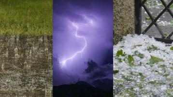 Hail and thunderstorms in weather forecast for Ireland for the weekend from Met Eireann
