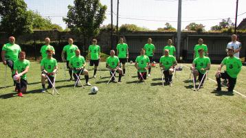 Irish Amputee Goalkeepers visit Tipperary - and saved the best sunshine for the occasion
