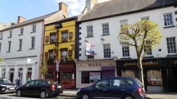Centrally located prime retail pitch in Clonmel town centre, for sale/to let