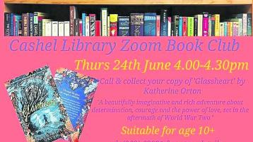 'Glassheart' is coming to Cashel library on June 24