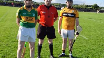 Micheal Coen (Clonoulty) Padraig Skeffington and Conor O' Mahoney (Kickhams)