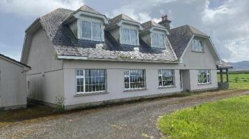 Substantial 5 bedroom detached house with garage in scenic location going for auction
