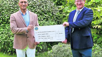 Roscrea Lions Club - aid to India