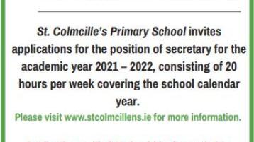 St Colmcilles Templemore invites job applications for secretary