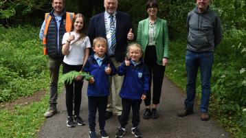 Council opens newly resurfaced walking route in Templemore Town Park