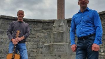 Launch of 'Alone On Talbot Street' by Roscrea's Seamus and Aidan Doran