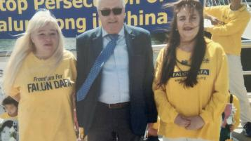 Tipperary well represented at Falun Gong Peaceful Protest in Dublin