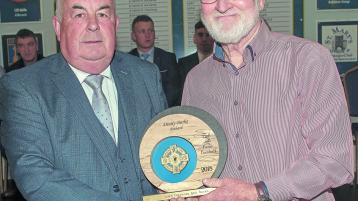 Tipperary football legend wins Vice Captain's Prize at Slievenamon Golf Club