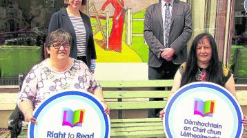 Cllr Marie Murphy, Damien Dullaghan, Ann Marie Brophy, Ann Tuohy   Picture: Maria  Taylor