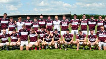 The Borris-Ileigh team which won the County League title last weekend