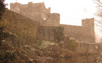 Cahir in the snow - a winter wonderland!