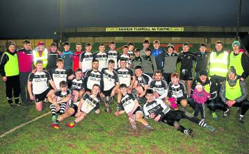 JK Brackens on the day they won the mid title.Today they added the county title  when they defeated Moyle Rovers in the final