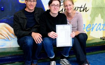 Thurles student Scott Beaton credits 'inspirational parents' after scoring 7 H1's in Leaving Cert exams