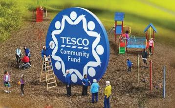Tesco supports 558 projects in Tipperary donating €124,000 since 2014