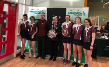 Presentation Thurles are All Ireland badminton champions