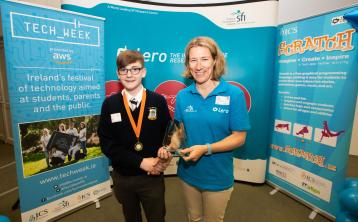 Tipperary student Keelan Fahy tops National Coding final
