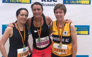 Dundrum athlete Patricia Moloney improves her time at 20km de Bruxelles