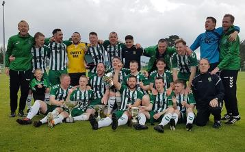 The countdown is well underway to the Saints' FAI Junior Cup final against Sheriff YC on August 31 in Galway
