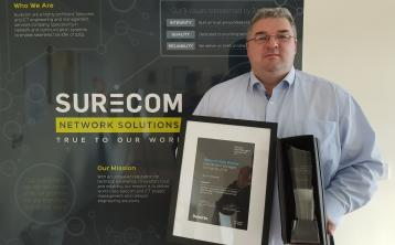 Tipperary's Surecom Network Solutions has an 'unrivalled reputation' for technical excellence