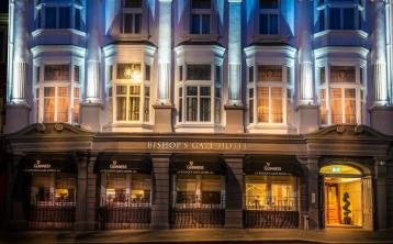 Win a luxury pre-Christmas shopping break at Derry's Bishop's Gate Hotel