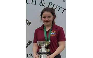Our Lady's Templemore congrats Martha on her Pitch & Putt achievement