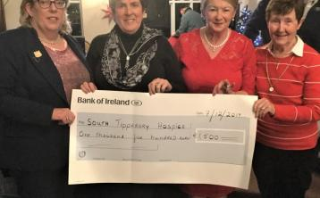 Co Tipperary Golf & Country Club ladies make presentation to South Tipperary Hospice