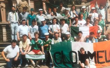Clonmel was well represented among Jack's Army in Stuttgart