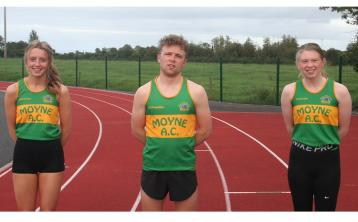 Moyne AC achieve great results at the National U/20 Track & Field Championships
