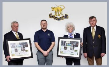 Cahir Park Golf Club presentation to their Assistant PGA Professional