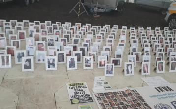 RSA pay tribute to the 188 people killed on Irish roads in 2016 at #Ploughing17