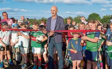 New €500,000 all-weather pitch and amenity area officially opened is opened in rural community near Carrick-on-Suir