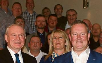 McGuinness launches Sinn Féin candidate Morris' campaign