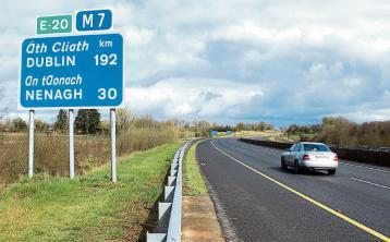 Tipperary gardai called after motorist caught travelling the 'wrong way' on busy motorway