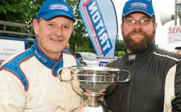 Clonmel's Roy White begins defence of national rally title in Nenagh