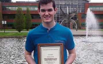 London College of Music award for Darragh