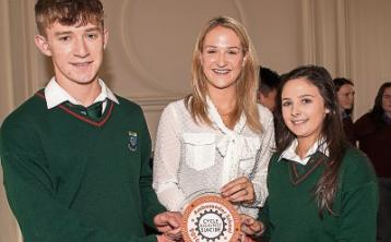 Committed Cashel Community School receives Cycle Against Suicide Ambassador School Award