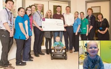 Team Evan Jones raise over €33k for children's cancer unit