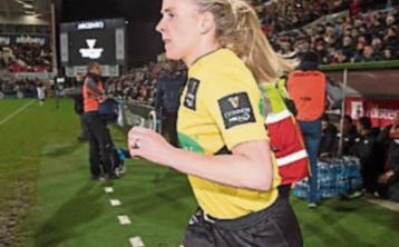 Referee of the Year Joy Neville will be among women's rugby stars attending Carrick-on-Suir RFC's Girls Rugby Day