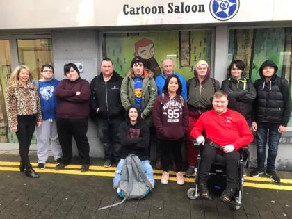 Templemore College students 'animated' by Cartoon Saloon trip
