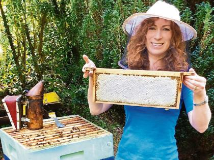 Tipperary beekeeper Aoife MacGiolla Cuda hopes to create a