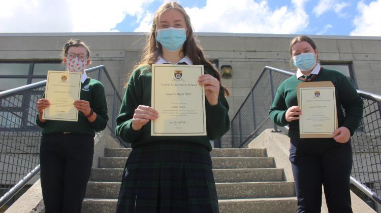 Cashel Community School annual students awards for 2021