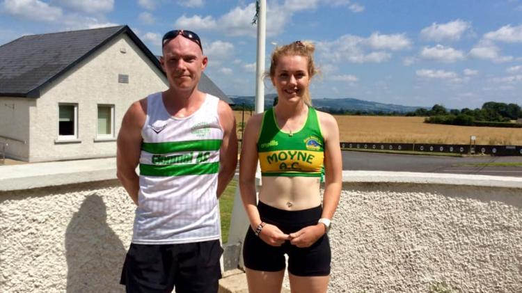 Paul Minogue of Clonmel and Sharon Cantwell of Moyne, the individual medal winners.