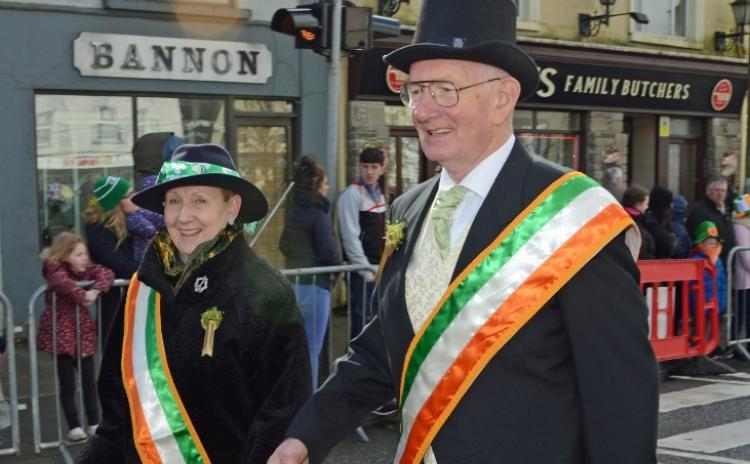 Back to the 70's and 80's for St Patrick's Day parade in Templemore