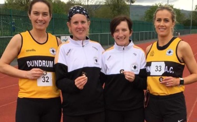 Gallery: Bronze medals for Dundrum AC athletes at the County Junior, Senior and Masters Outdoor Track and Field championships