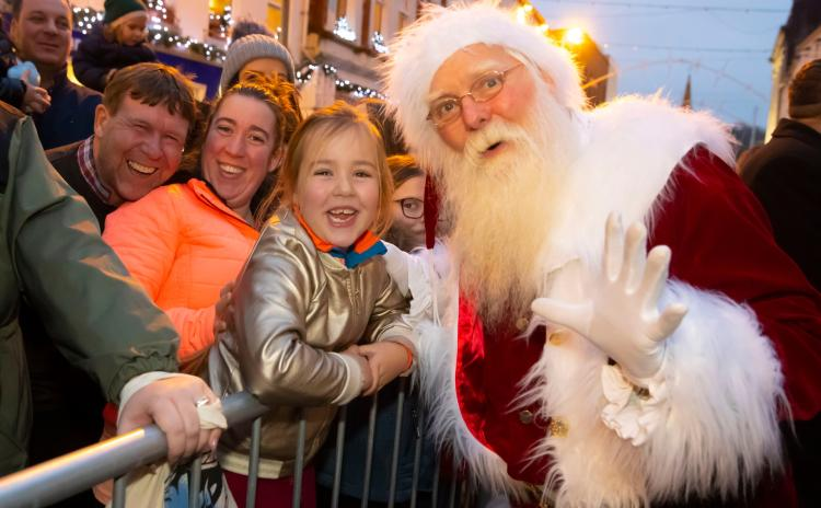 PHOTOS: Santa drives crowds wild at Waterford Winterval