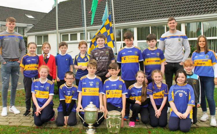 IN PICTURES: Liam MacCarthy Cup visits Drangan NS