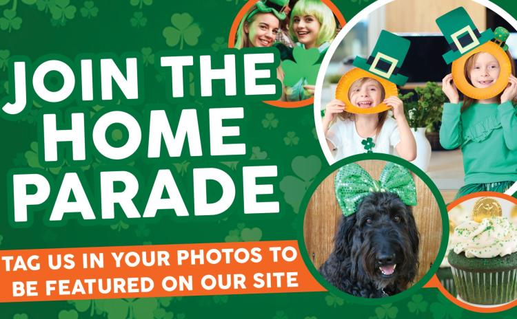 Join Offaly's digital St. Patrick's Day Parade - send us your pictures and videos