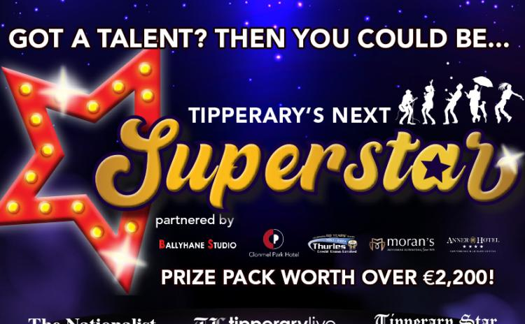GET ENTERING! The search is on for Tipperary's Next Superstar