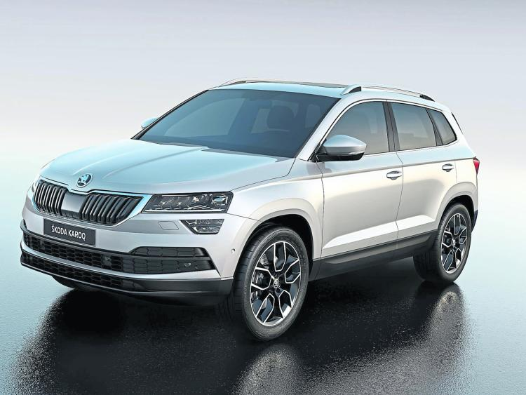 hot on the heels of the impressive kodiaq the new skoda karoq is unveiled tipperary star. Black Bedroom Furniture Sets. Home Design Ideas