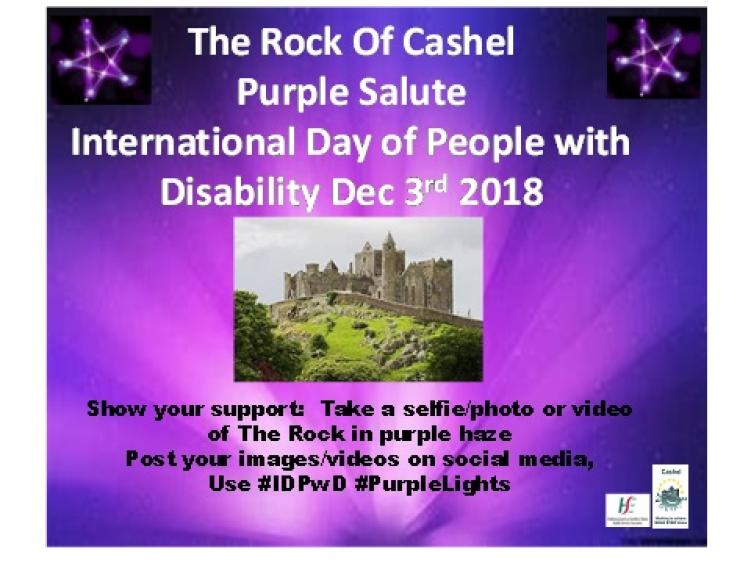 Use The Hashtags Idpwd Purplelights To Show Your Support